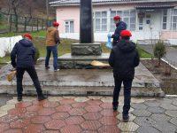 Памятник односельчанам п. Каткова Щель